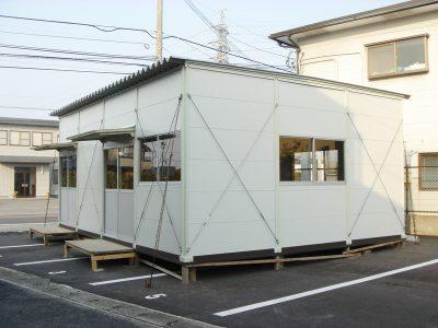 仮設事務所